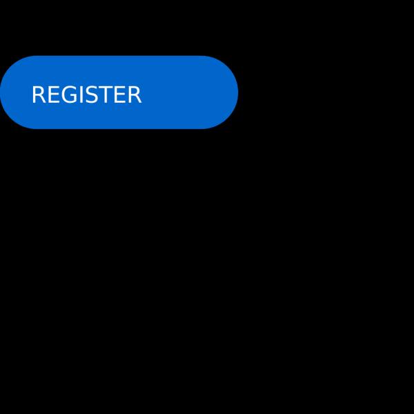 Register Now Button Dark Blue PNG Clip art