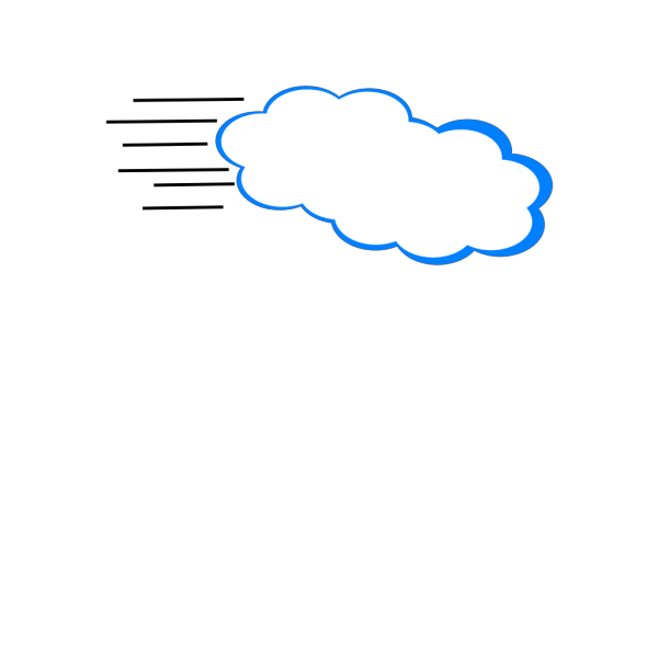Flyingclouds PNG Clip art