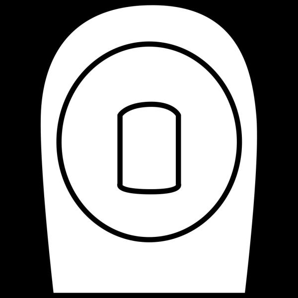Blue Male Toilet Symbol PNG Clip art