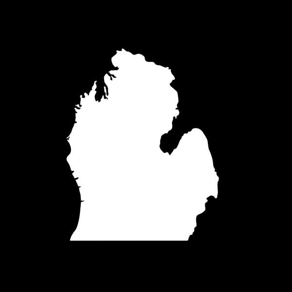 Michigan Silhouette PNG Clip art
