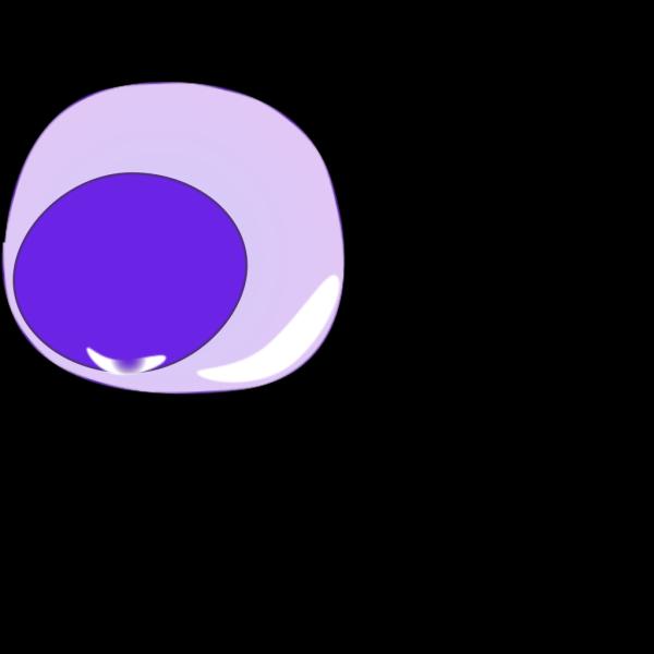 Lymphocyte B Antibody Secretion Blue PNG Clip art