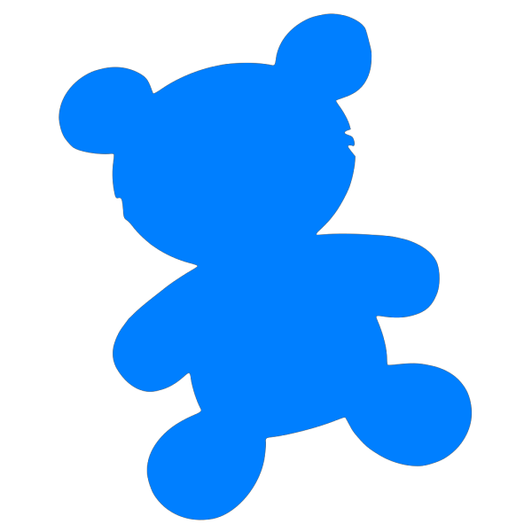 Blue Bear PNG icons