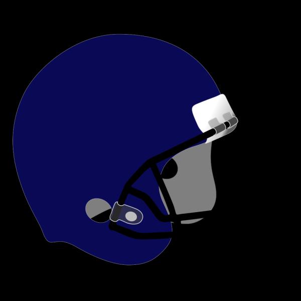 Football Helmet Blue PNG Clip art
