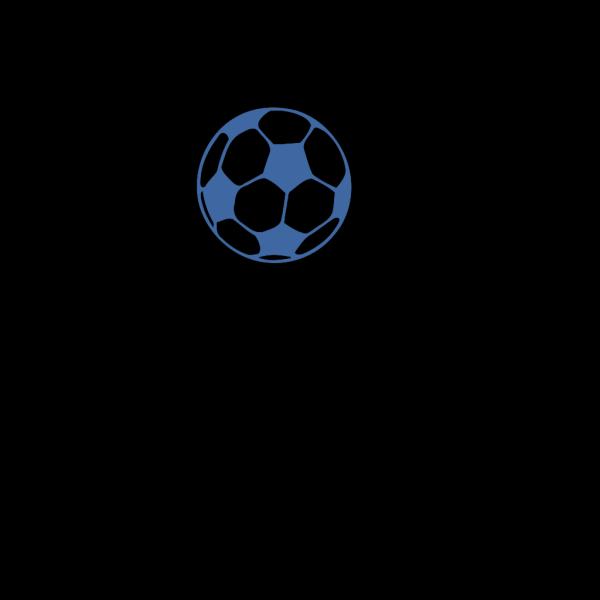 Football Lighter Blue PNG Clip art