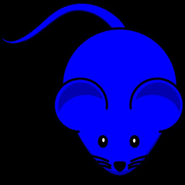 Dark Blue Mouse PNG Clip art