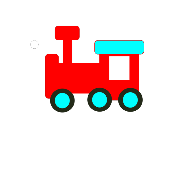 Red And Blue Choochoo PNG icons