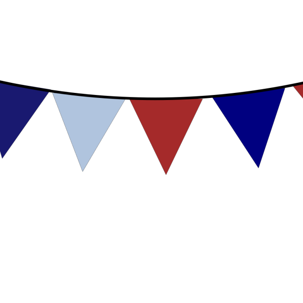 Usa Bunting PNG images