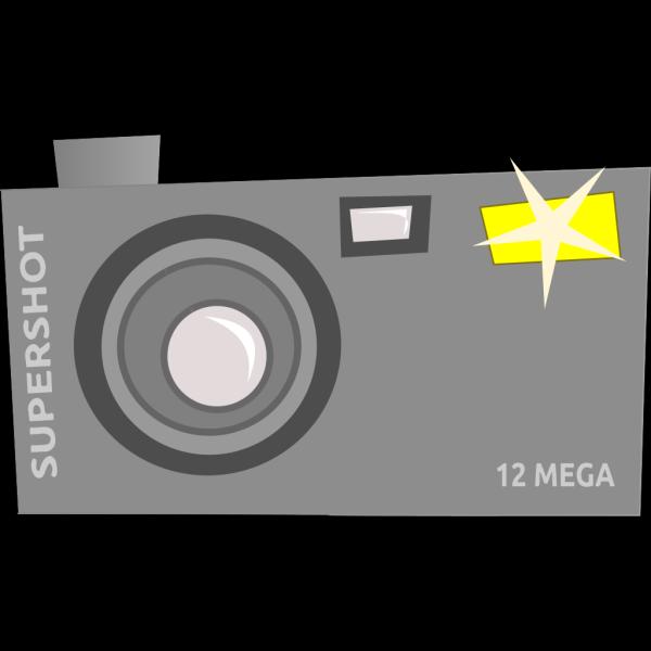Blue Camera PNG clipart