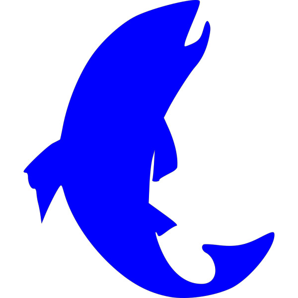 Blue Trout PNG Clip art