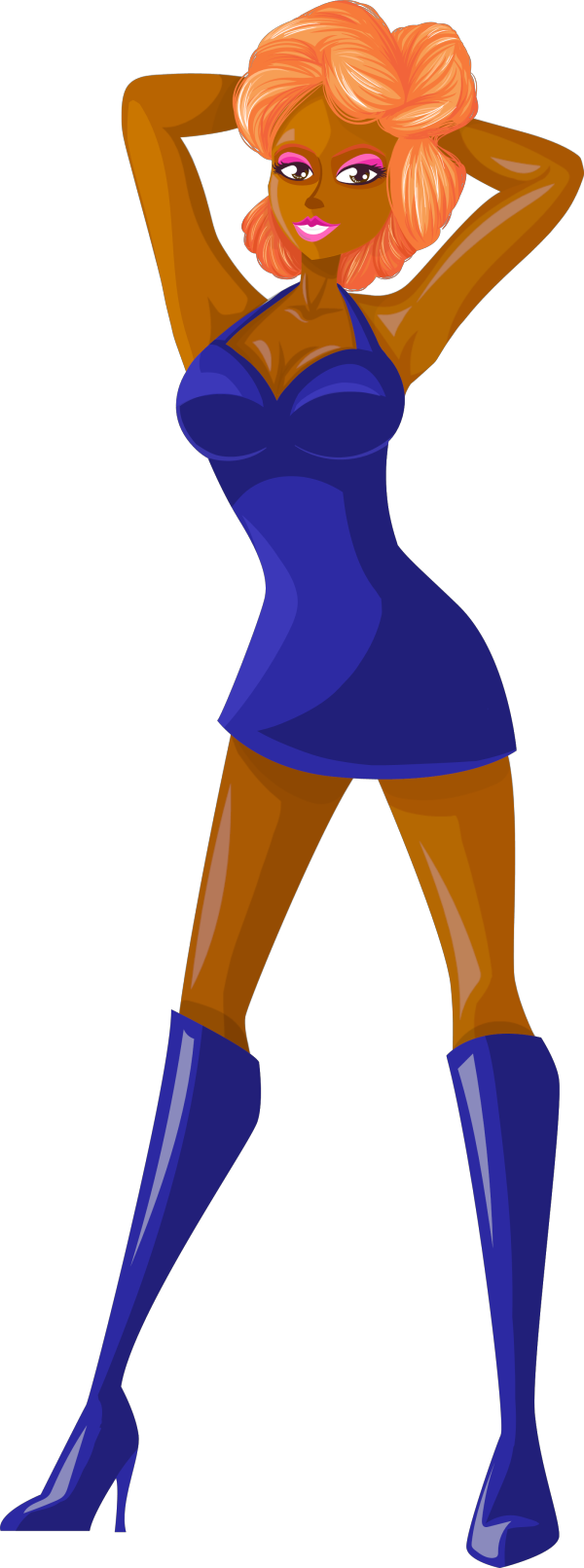 Blue Softball PNG Clip art