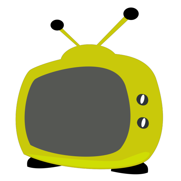 Blue Television PNG clipart