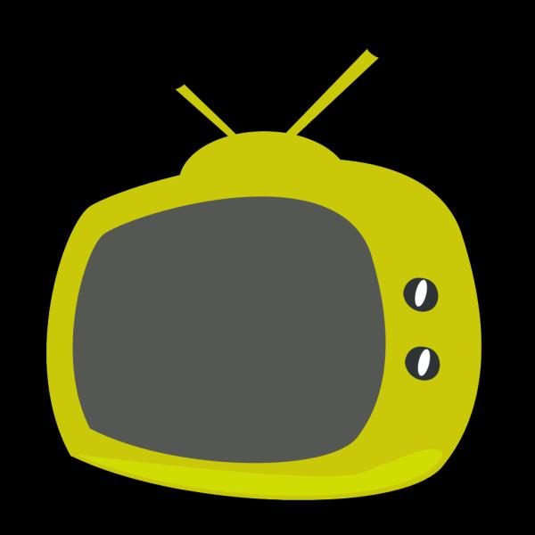 Blue Television PNG Clip art