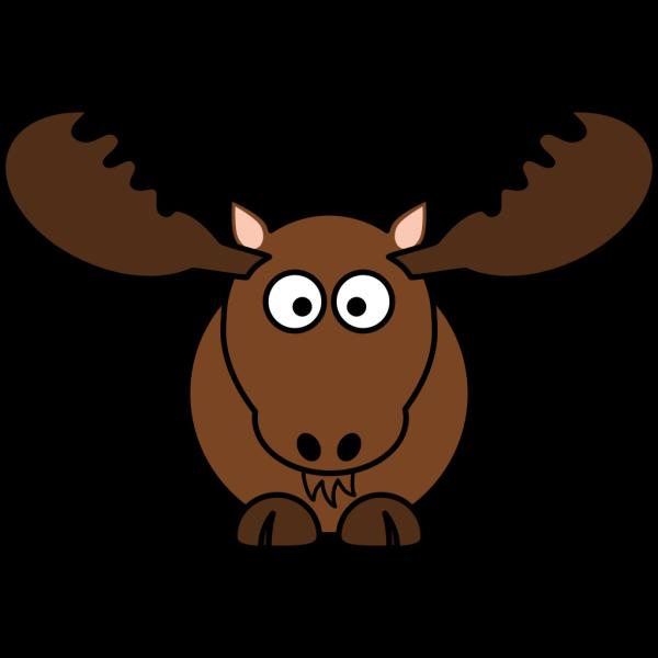 Blue Moose PNG Clip art