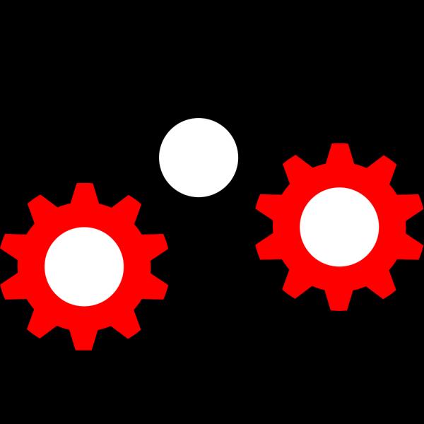 Blue Gear PNG Clip art