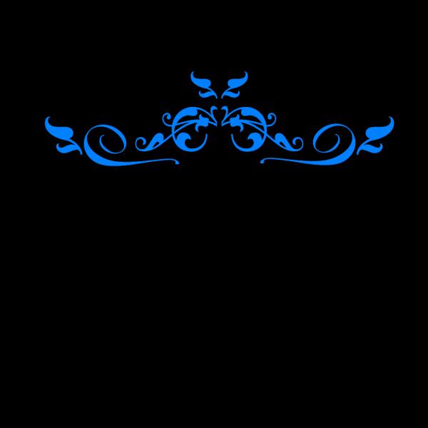Swirl Dark Blue PNG Clip art