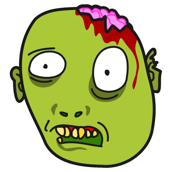 Zombie Blue PNG images