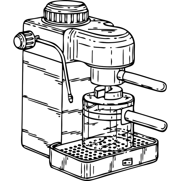 Espresso Maker PNG Clip art