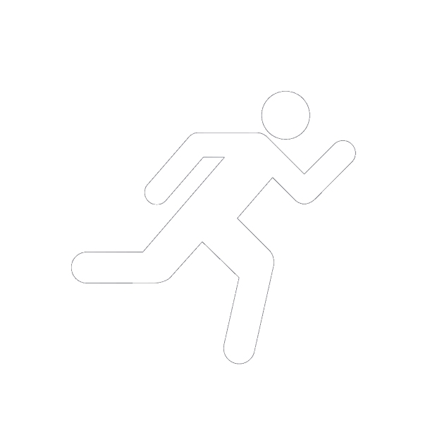 Running Icon Blue PNG Clip art