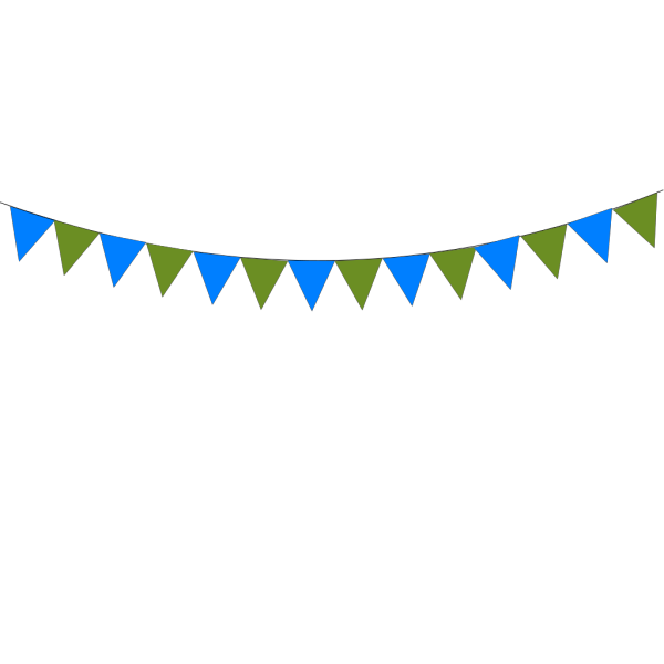 Summerswood Bunting PNG Clip art