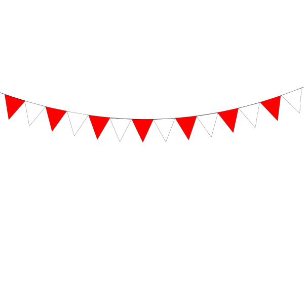 Summer Fete Bunting PNG images