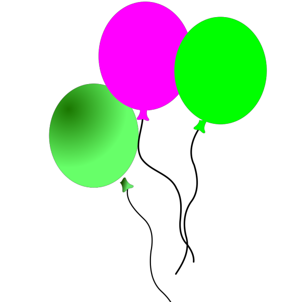 Party Balloons PNG icons