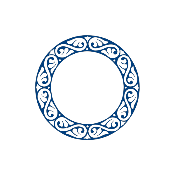 P Circle Blue PNG Clip art