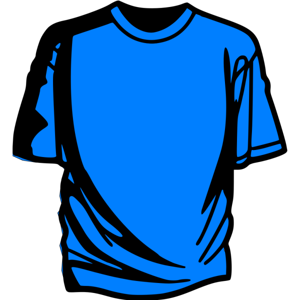 T-shirt Blue PNG icon