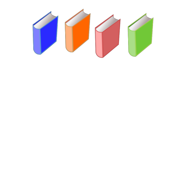 Two Books PNG Clip art