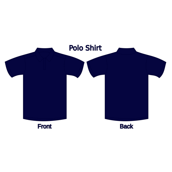 Polo Shirt (dark Blue) PNG icons