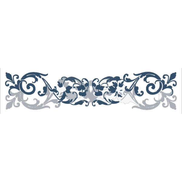 Vintage Scroll Accent Clipart PNG Clip art