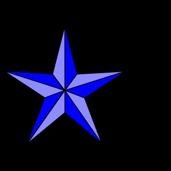 Blue Nautical Star PNG Clip art