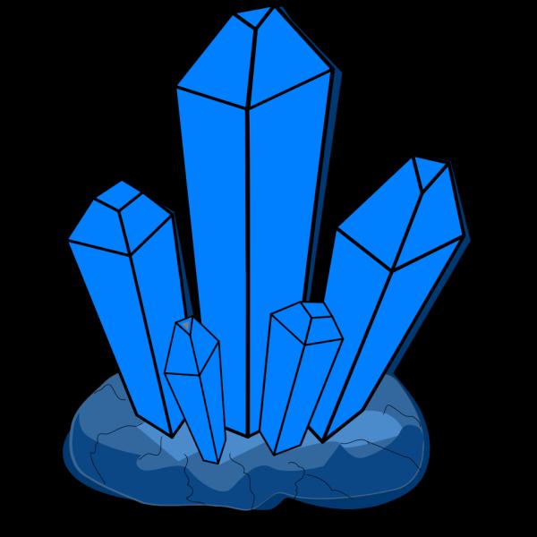 Blue Crystal PNG Clip art