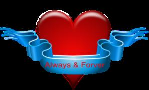 Always Forever PNG Clip art