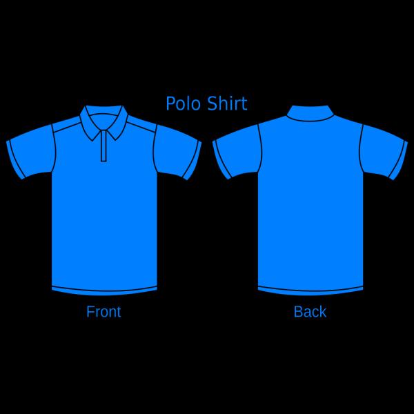 Light Blue Polo Shirt PNG Clip art