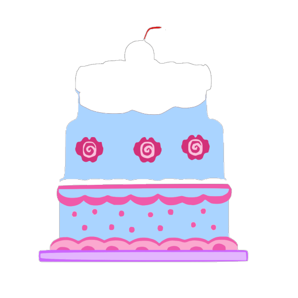 Half Cake  PNG Clip art