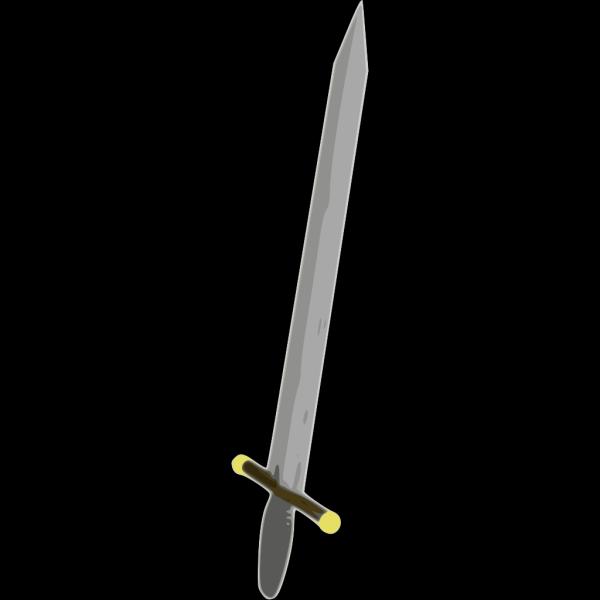 Swords And Light Blue Shield PNG Clip art