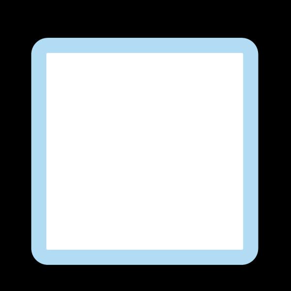 Box Blue PNG Clip art