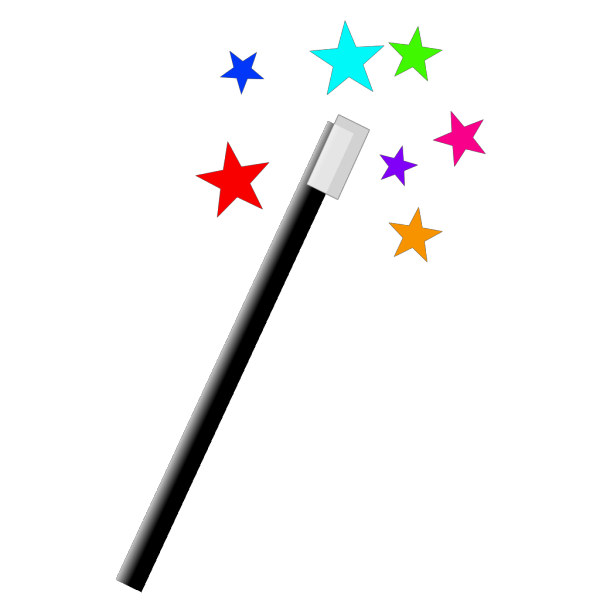 Small Magic Wand PNG Clip art