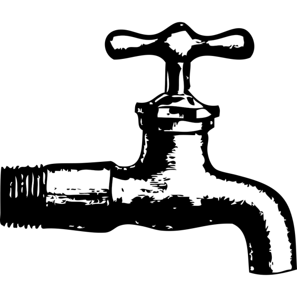 Blue Faucet PNG Clip art