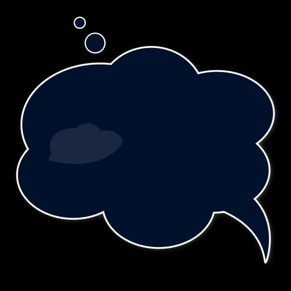 Blue Speech Bubble PNG Clip art