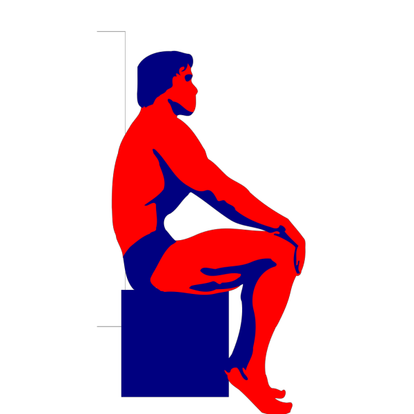 Sitting Body Builder