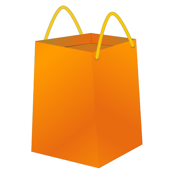 Blue Bb Shopping Bag PNG Clip art