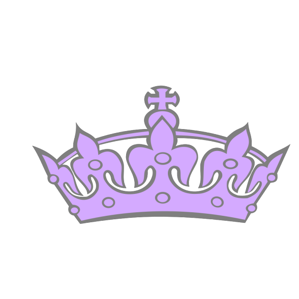 Pink Tilted Tiara And Number 15 PNG Clip art