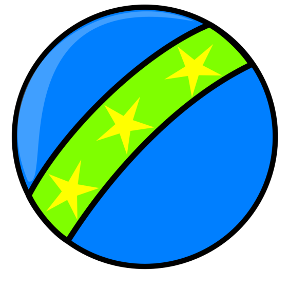 Blue Toy Ball PNG Clip art