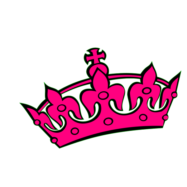 Pink Tilted Tiara And Number 32 PNG Clip art