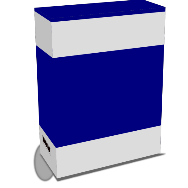 Bluebox PNG clipart