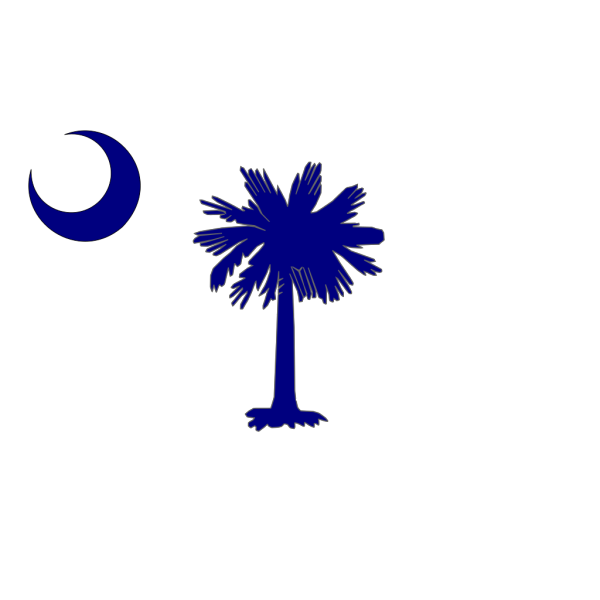 South Carolina Flag PNG Clip art