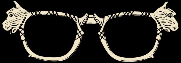 Blue Glasses PNG Clip art