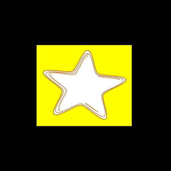 Blue Star Outline PNG Clip art