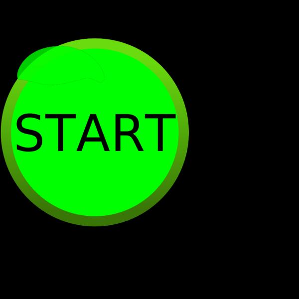 Blue Start Outline PNG Clip art